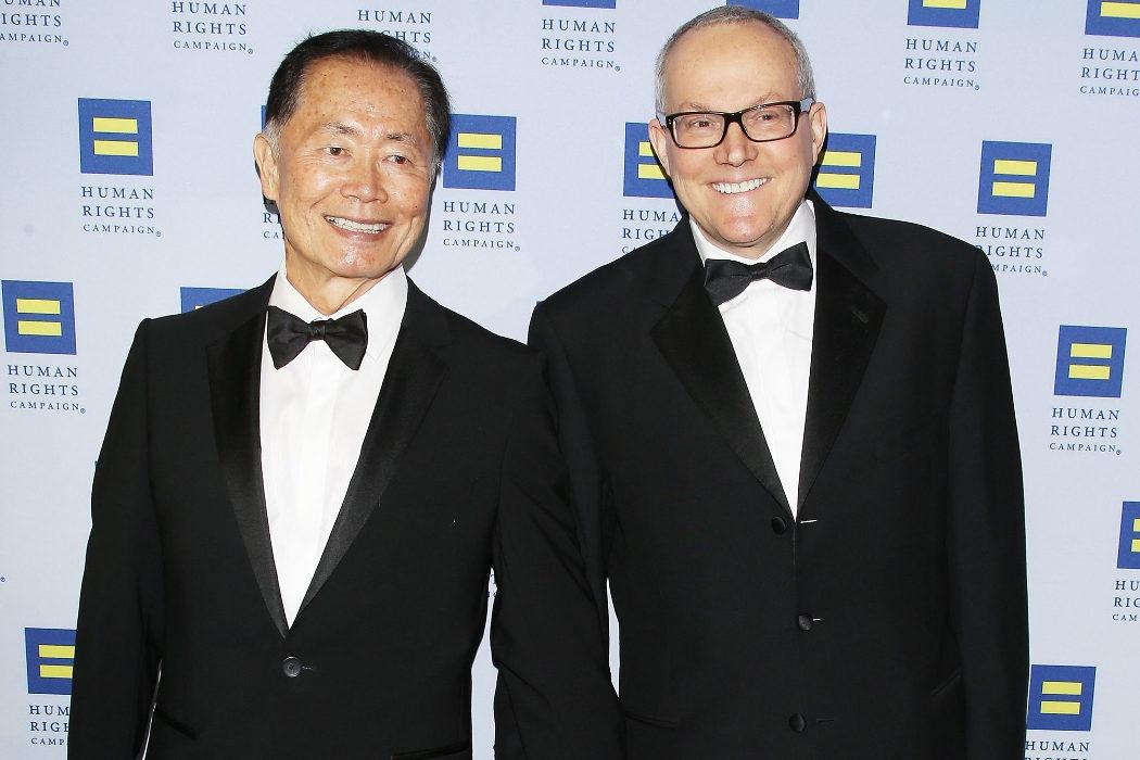 George Takei y Brad Altman