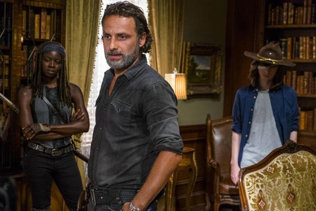 Michonne, Rick y Carl