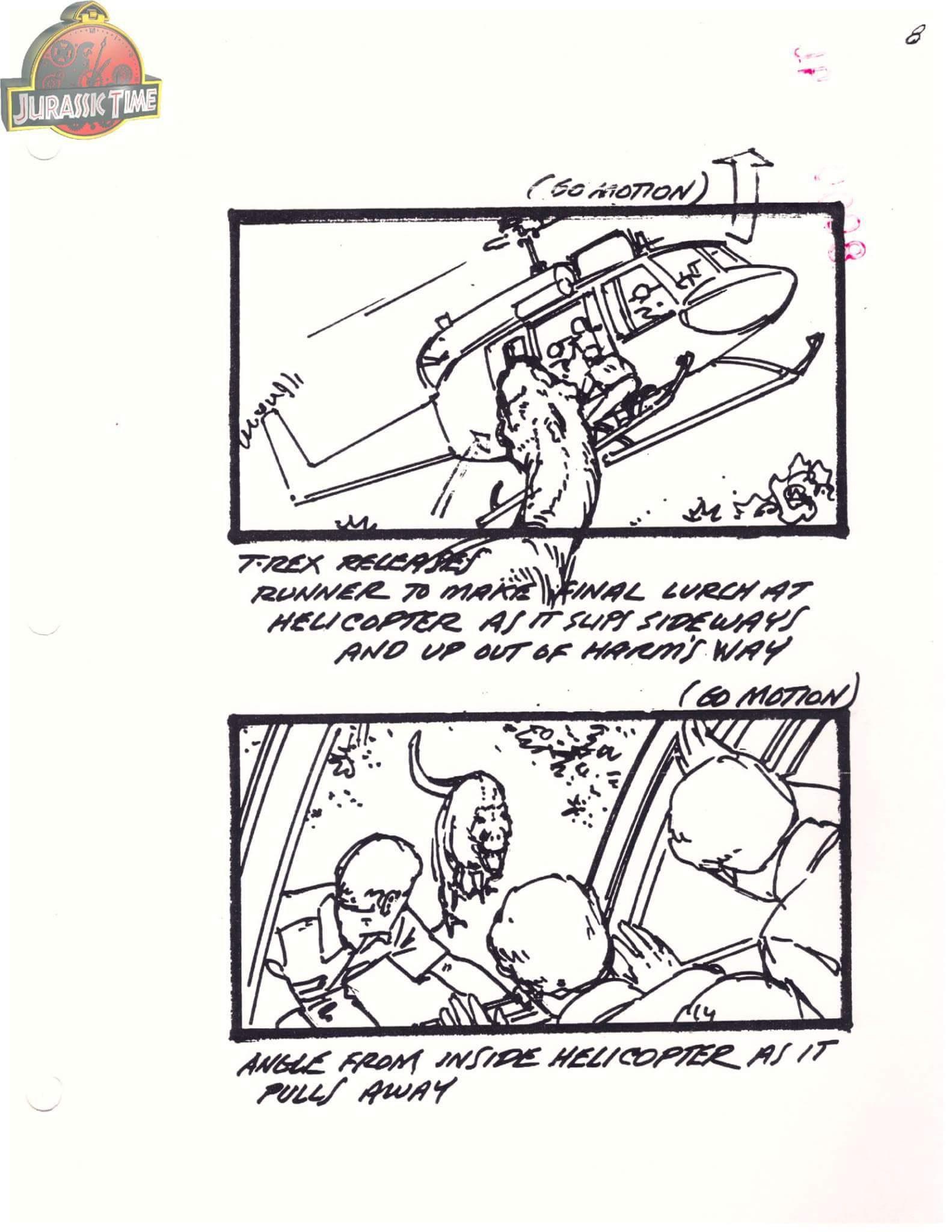 'Jurassic Park' (1993) Storyboard
