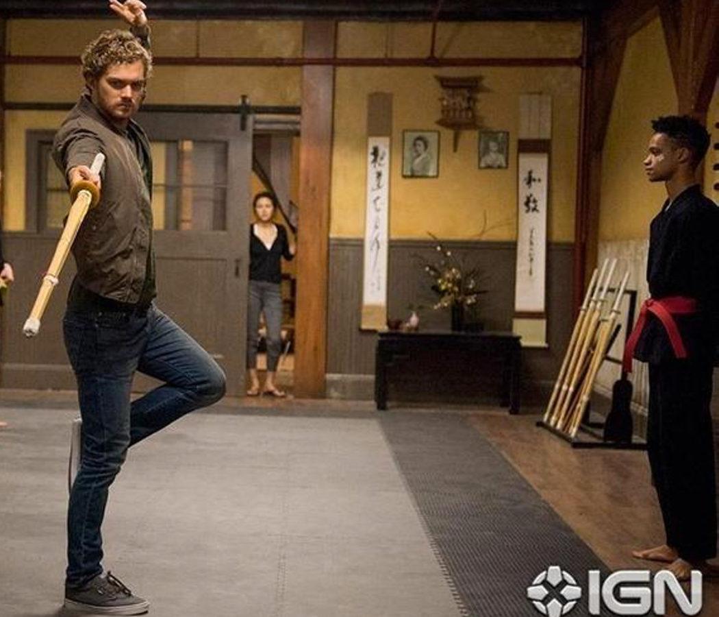 Iron Fist entrenando