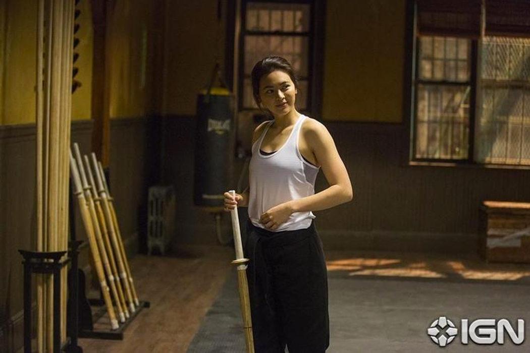 Jessica Henwick en el papel de Colleen Wing