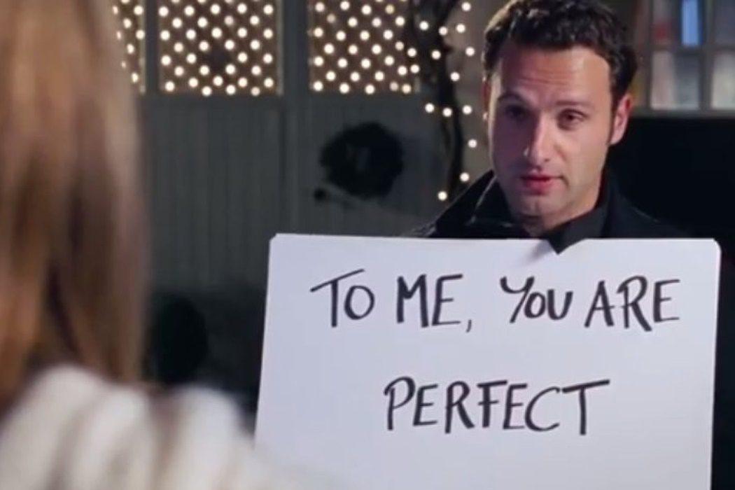 """""""Para mí, eres perfecta"""""""