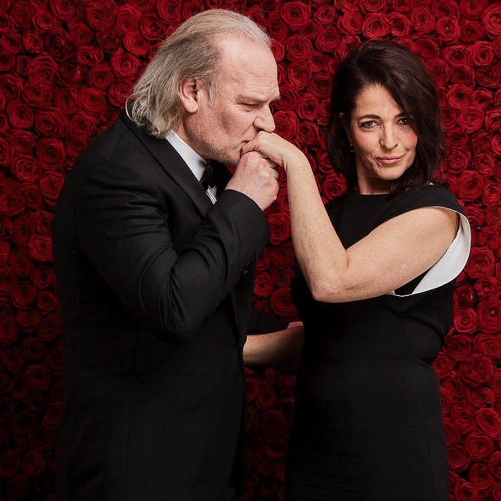 Lluís Homar y Nora Navas