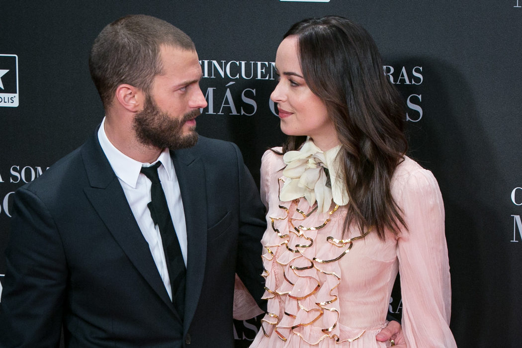 Dakota Johnson y Jamie Dornan