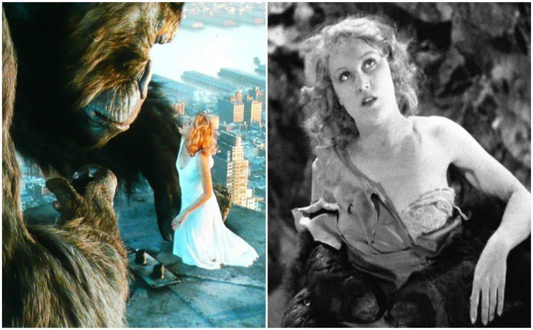 King Kong y Ann Darrow