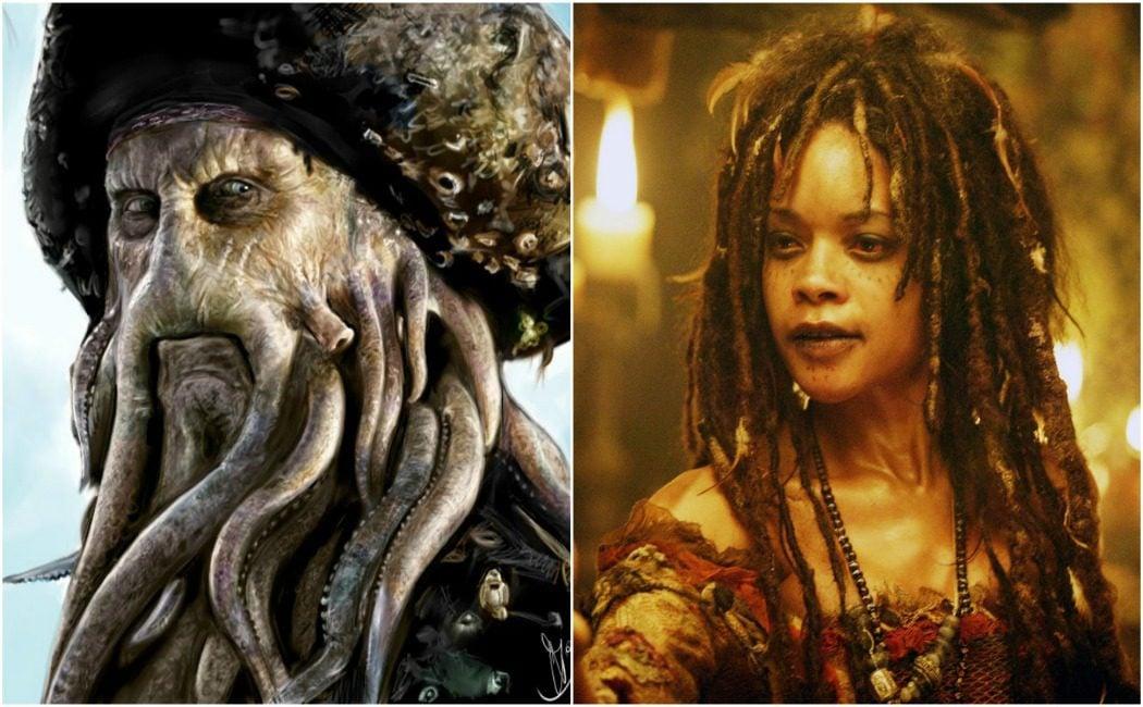 Davy Jones y Calypso