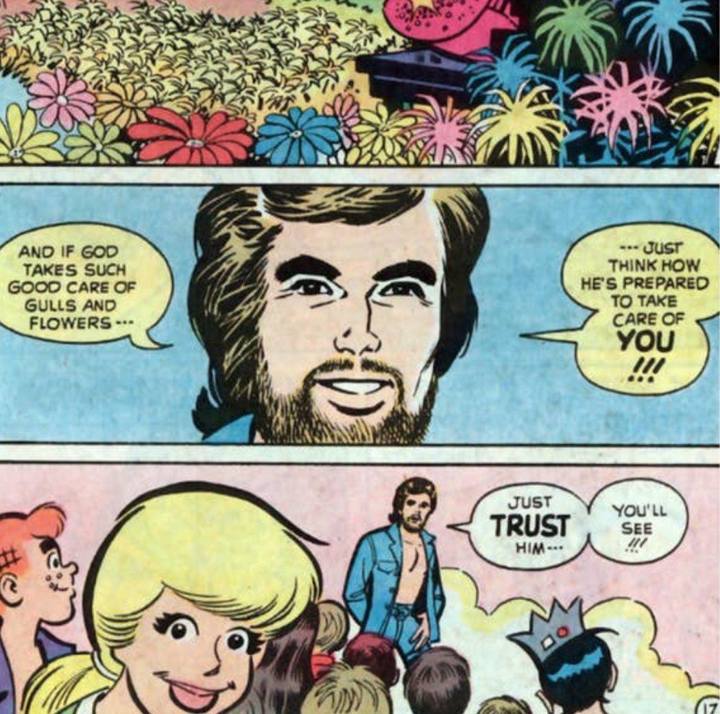 Archie conoce a Jesús