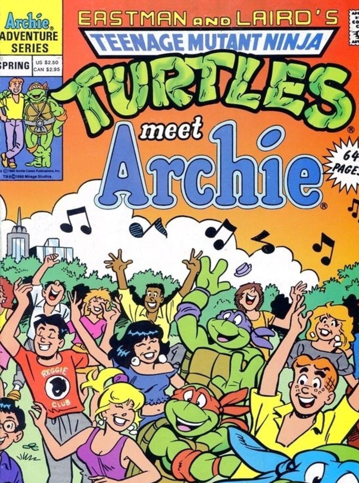 Archie salva el mundo con Las Tortugas Ninja