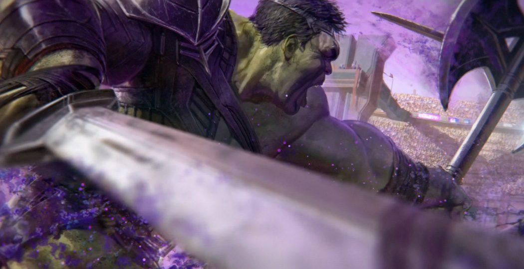 Hulk contra Thor en el anfiteatro
