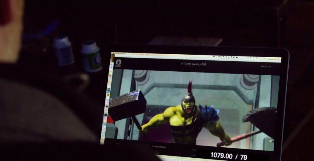 Making of del CGI de 'Thor: Ragnarok'