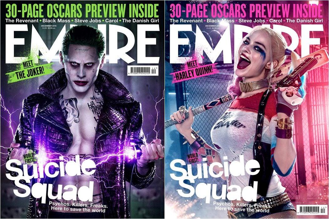 El Joker y Harley Quinn protagonizan las portadas de Empire