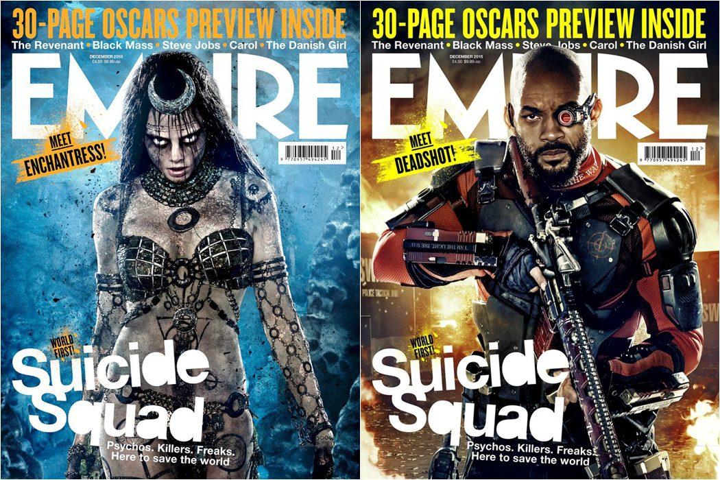 Hechicera y Deadshot también tienen su portada en Empire