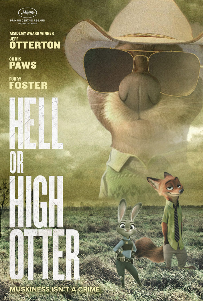 'Infierno o gran nutria' ('Hell or High Otter')