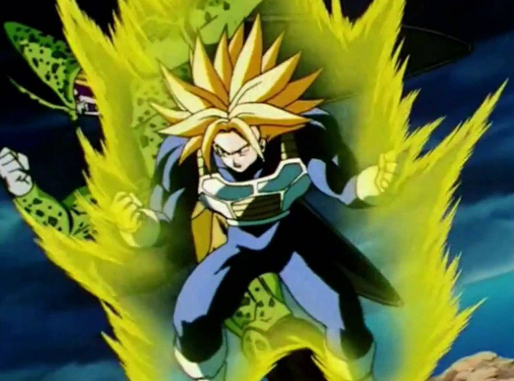 Súper Trunks vs. Célula