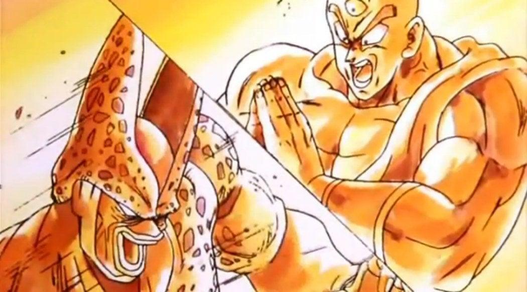 Tenshinhan vs. Célula