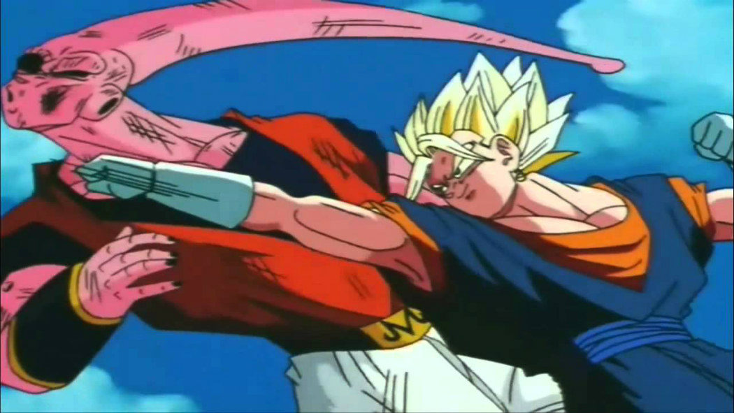 Vegetto vs. Super Buu