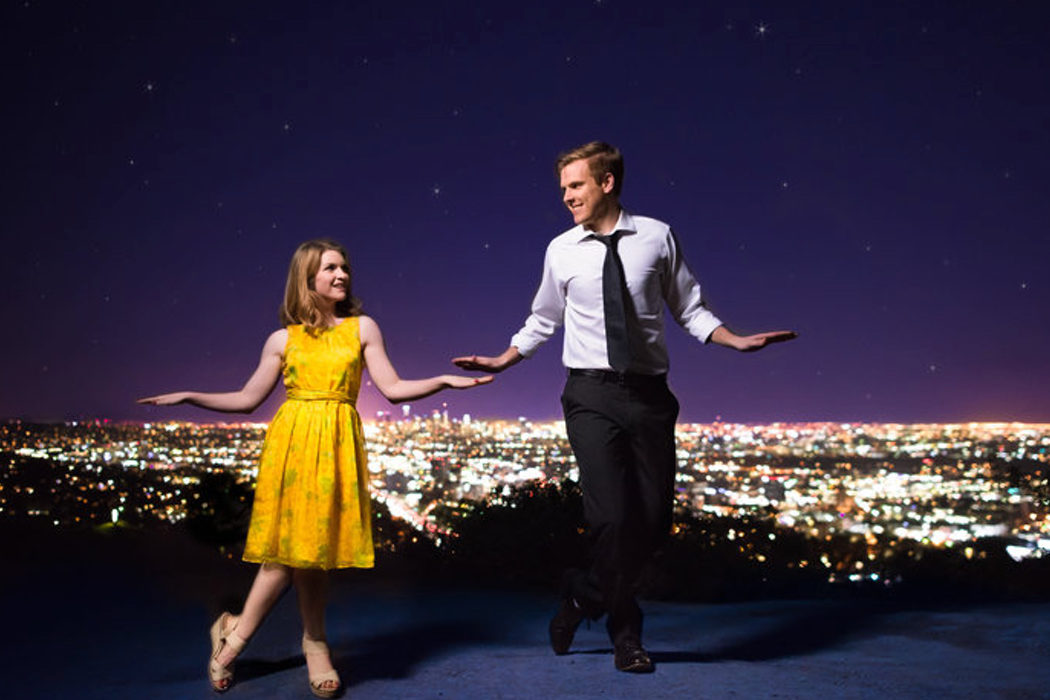 Clavaditos a Emma Stone y Ryan Gosling