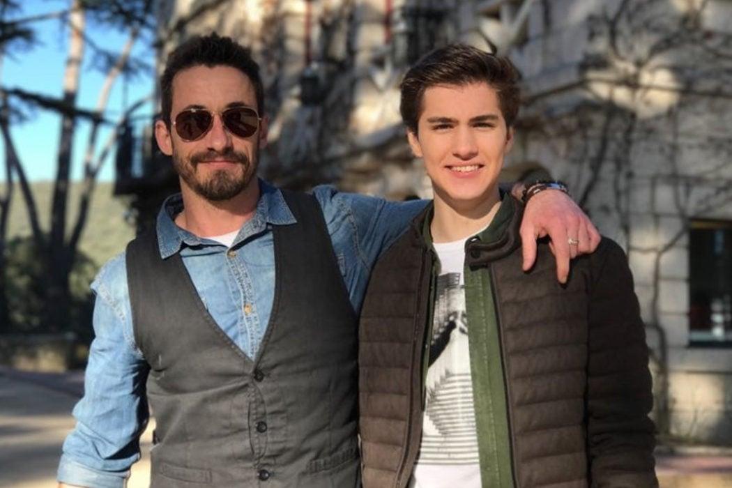 Ismael Martínez y Javier Cidoncha