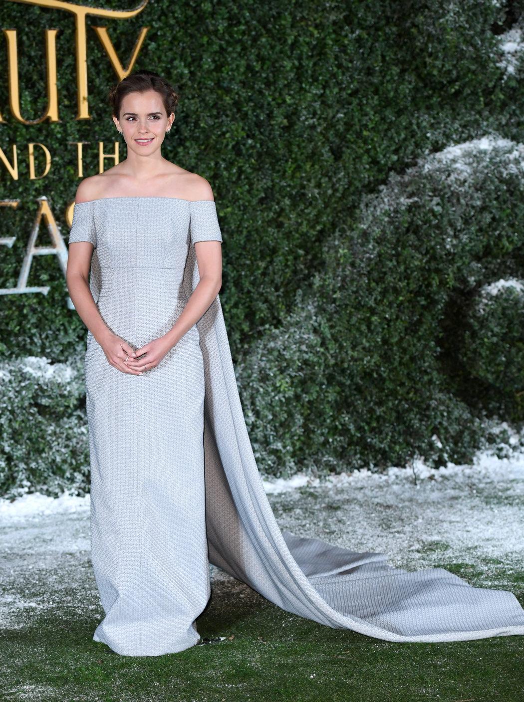 Emma Watson en la presentación 'La Bella y la Bestia' en Londres