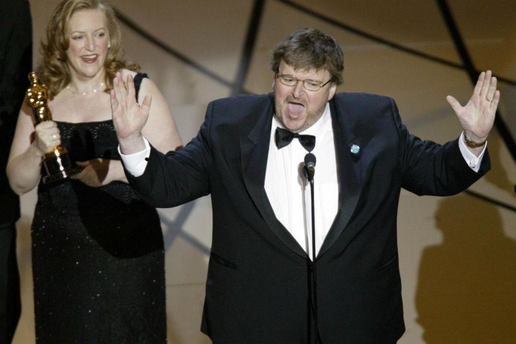 El discurso abucheado de Michael Moore