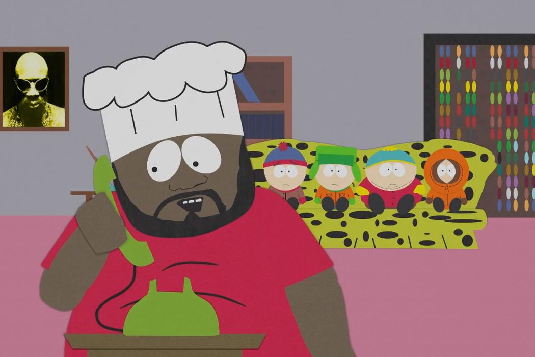 Isaac Hayes en 'South Park'