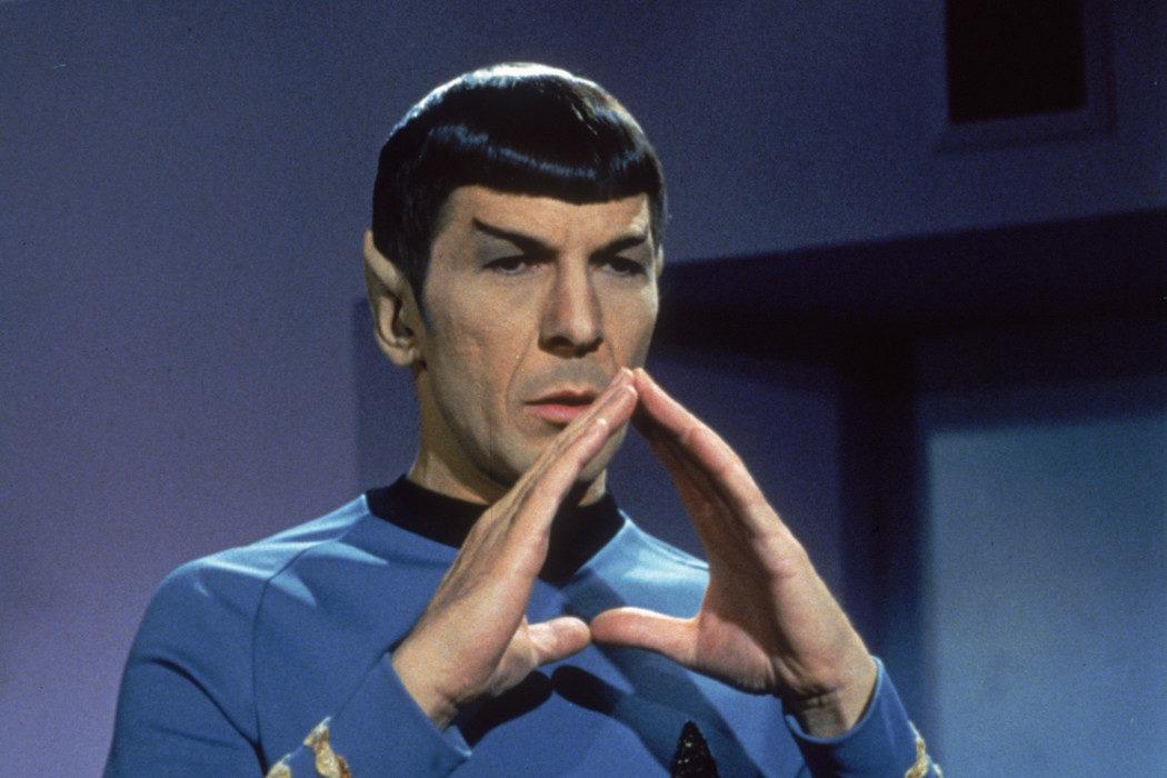 Leonard Nimoy en 'Star Trek'