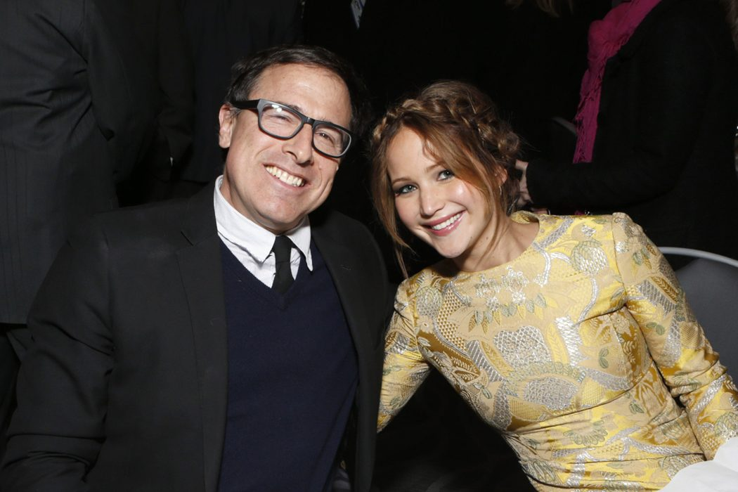 Jennifer Lawrence y David O. Russell