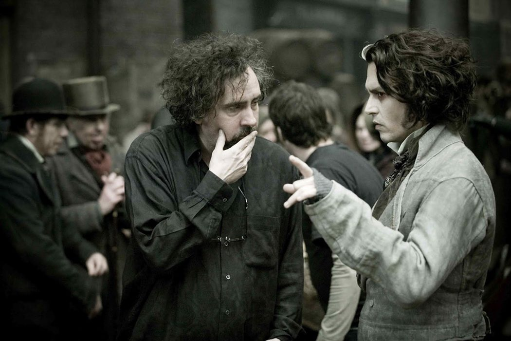 Johnny Depp y Tim Burton