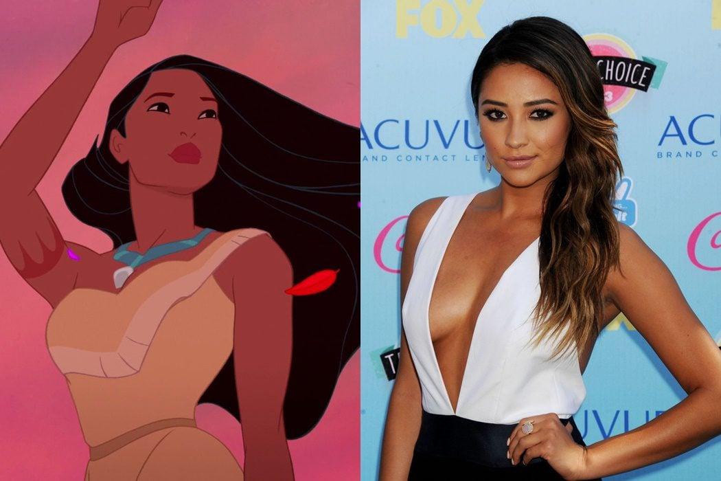 Pocahontas sería Shay Mitchell