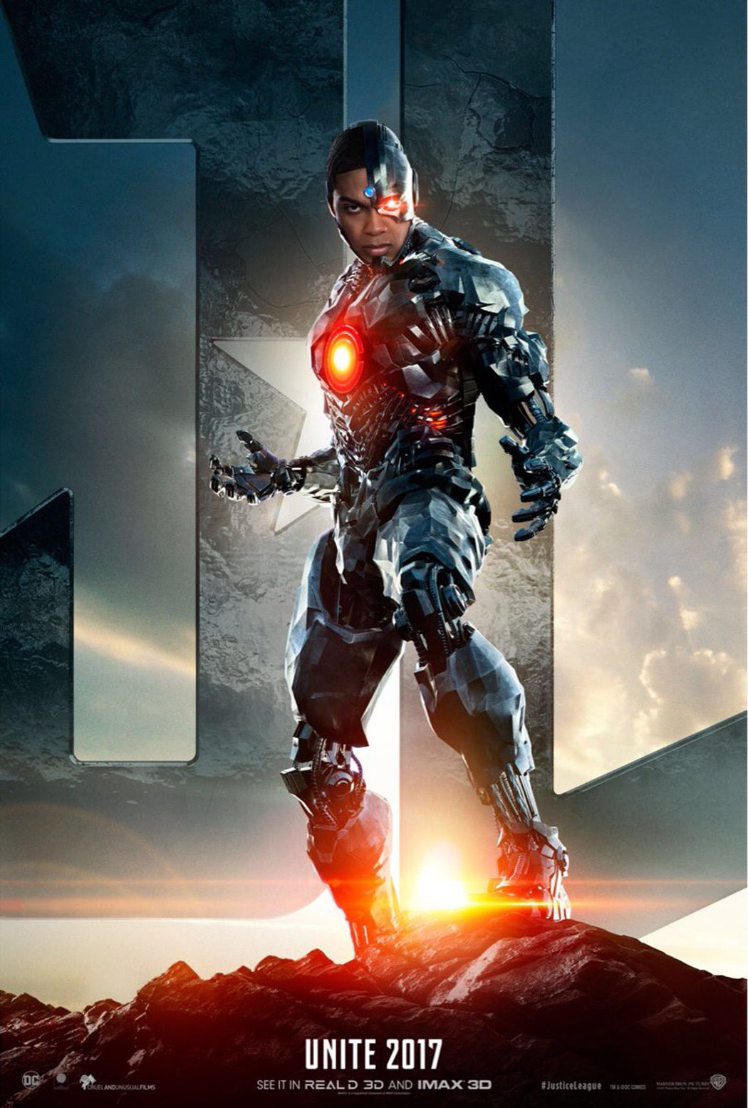 Ray Fisher es Cyborg