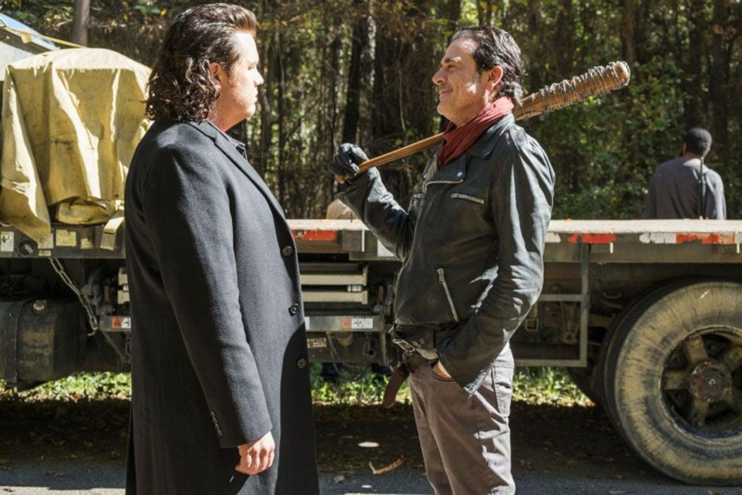 Negan y Eugene