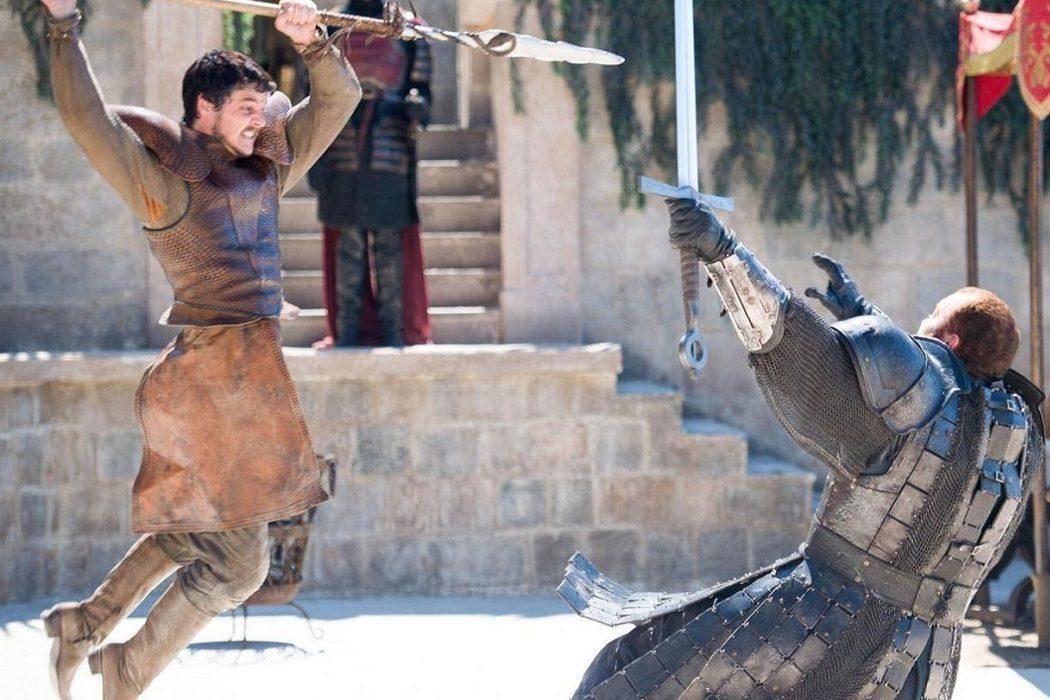 Aprendió artes marciales para ser Oberyn
