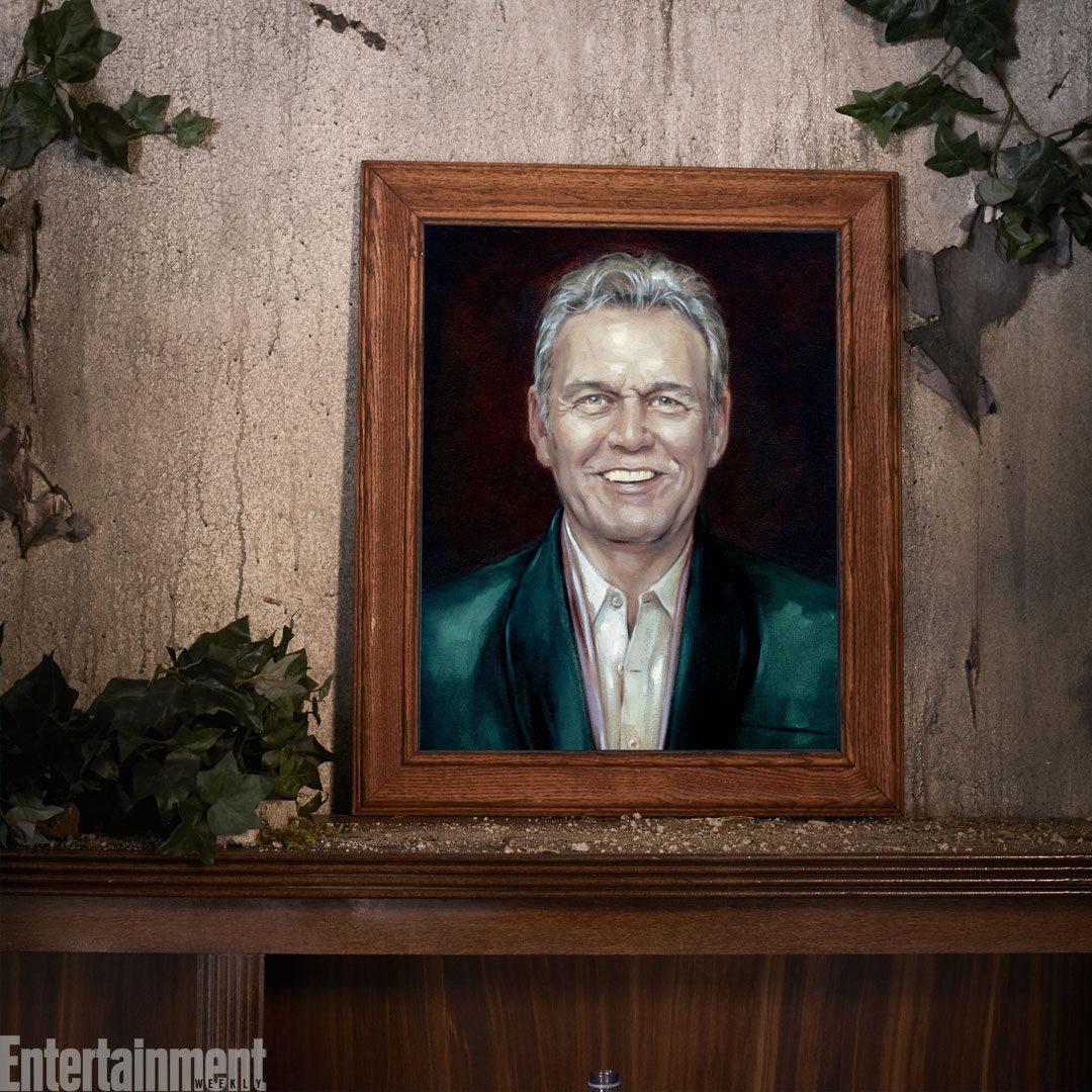 Retrato de Anthony Head (Giles)