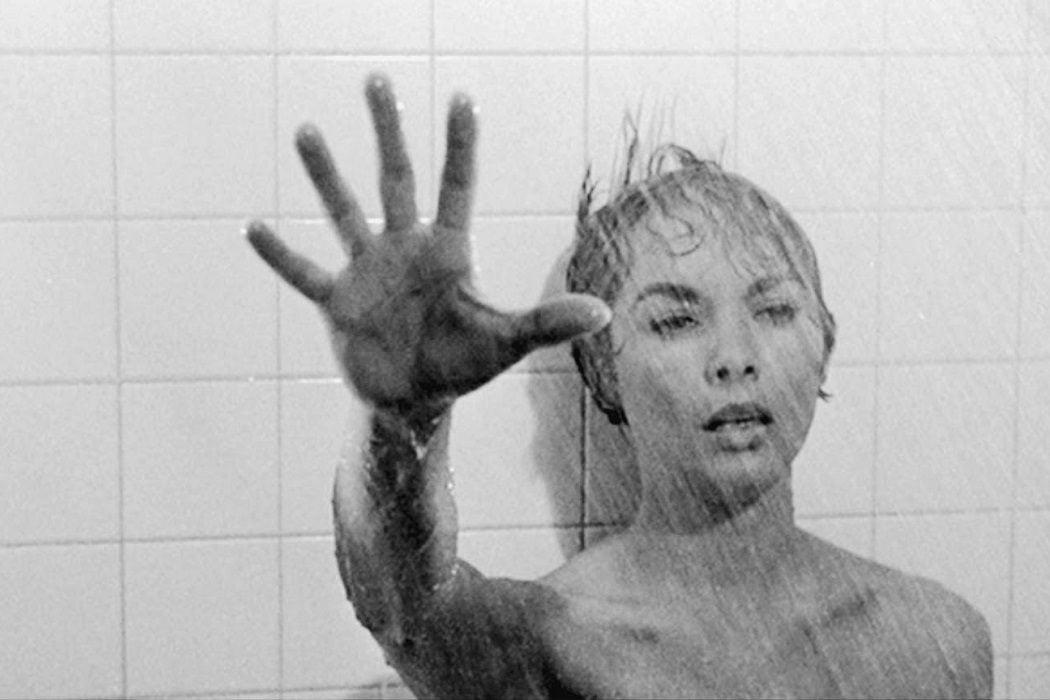 Janet Leigh en la ducha del motel Bates