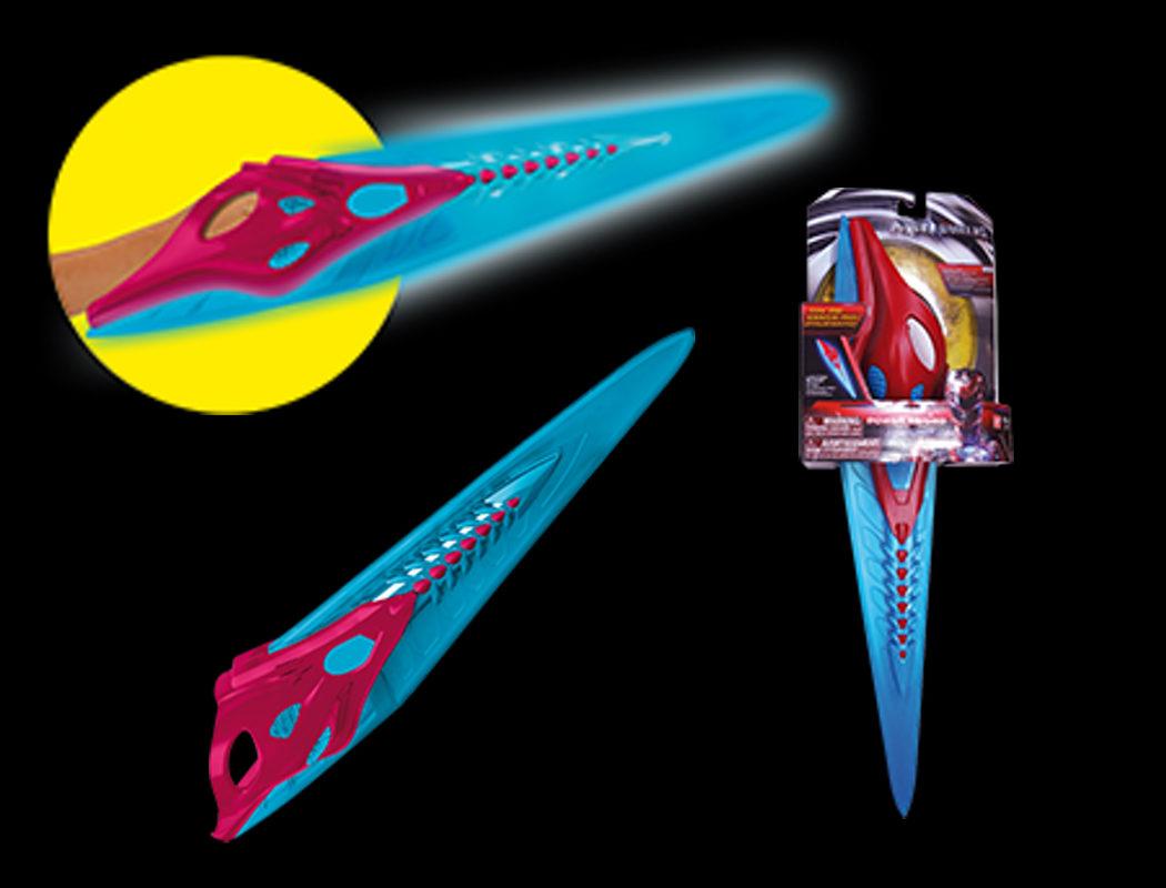 Espada del Ranger Rojo con luces y sonidos de la película
