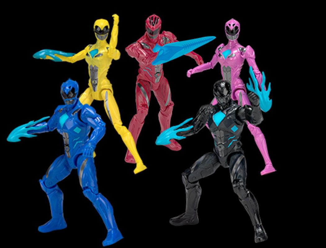 Figuras de acción de 'Power Rangers' de 13cm de altura