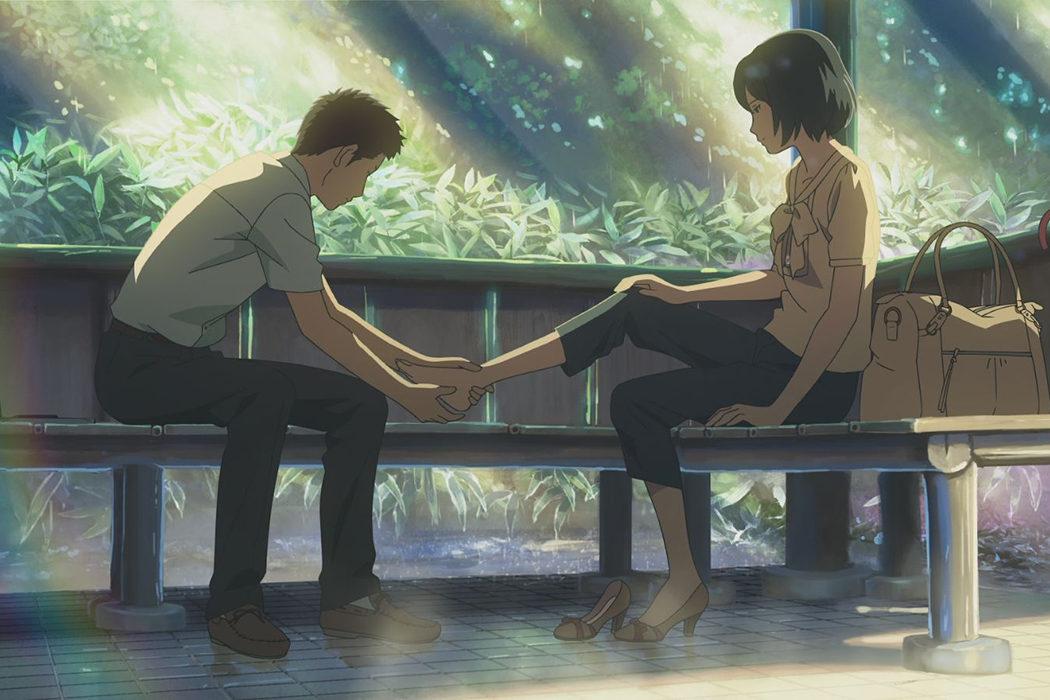 'El jardín de las palabras' (Makoto Shinkai, 2013)