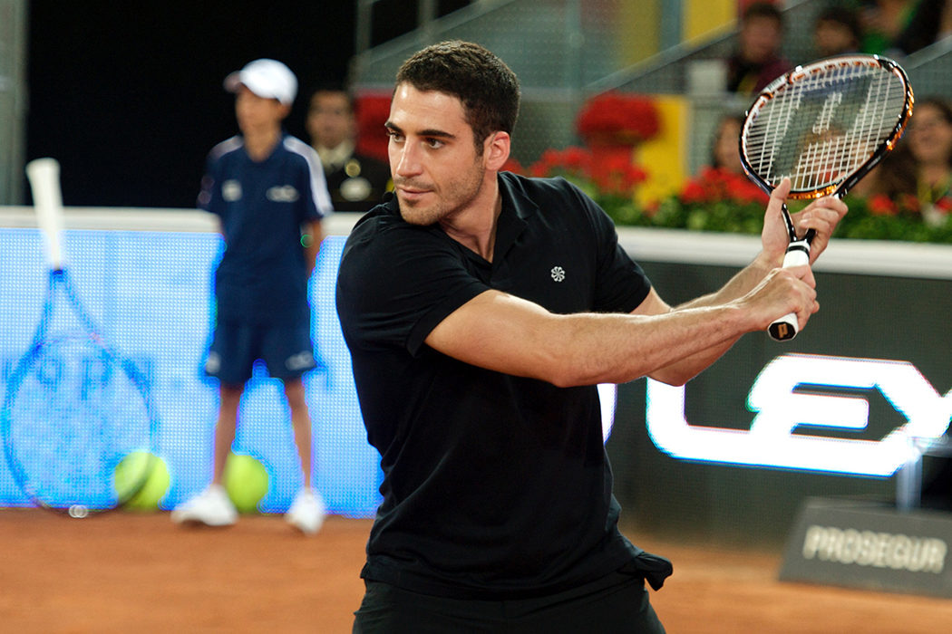 Un tenista frustrado