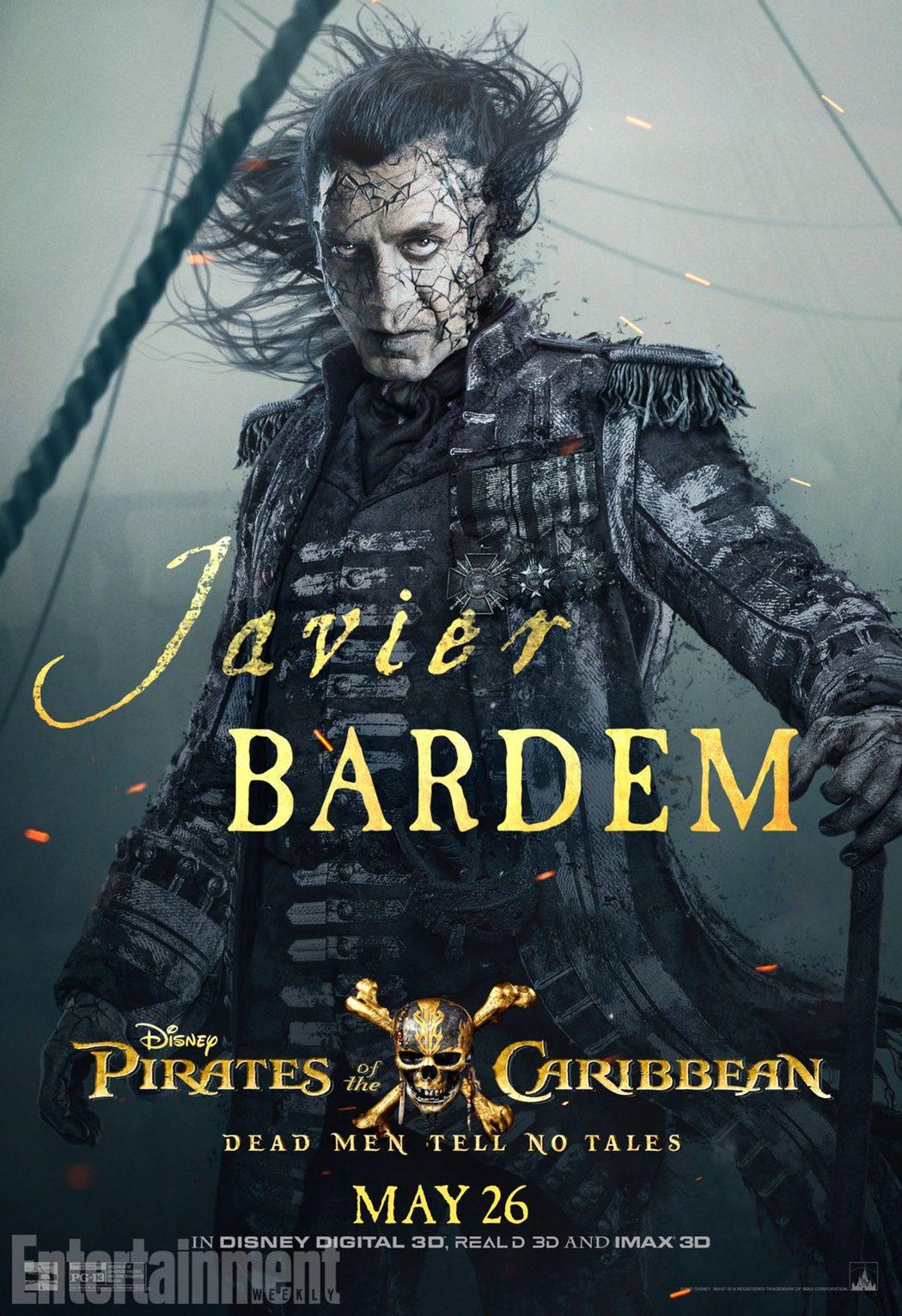 Capitán Salazar (Javier Bardem)