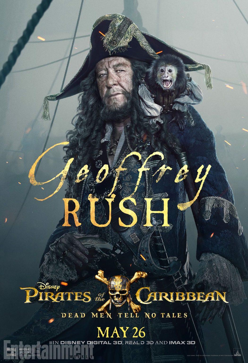 Barbossa (Geoffrey Rush)