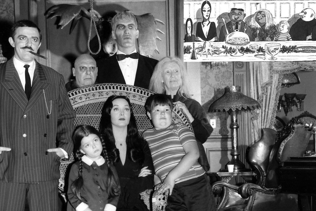Origen de los Addams