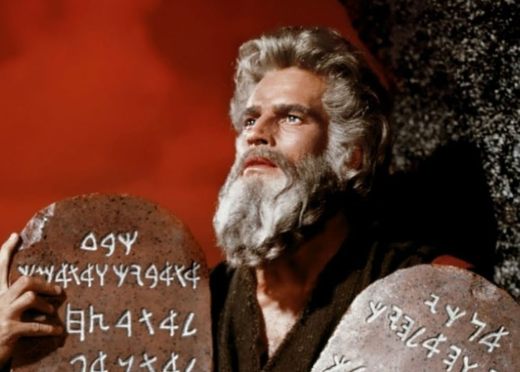 'Los diez mandamientos' (1956)