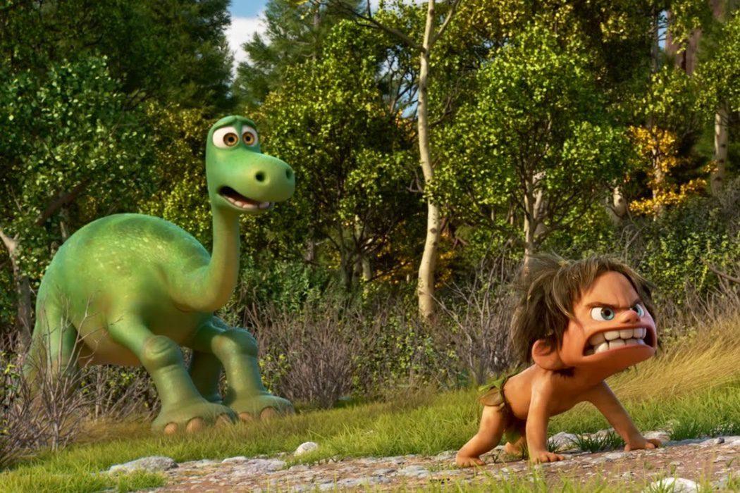 Encontrar al niño en el dinosaurio y al perro en el niño