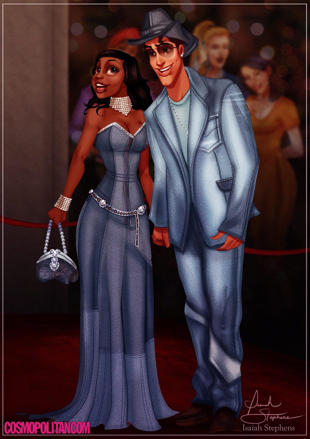 Tiana y Naveen