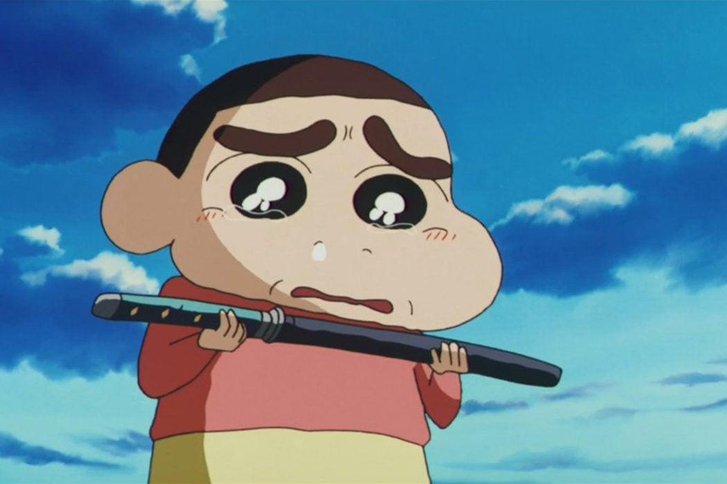 'Shin Chan: El pequeño samurái' (2002)