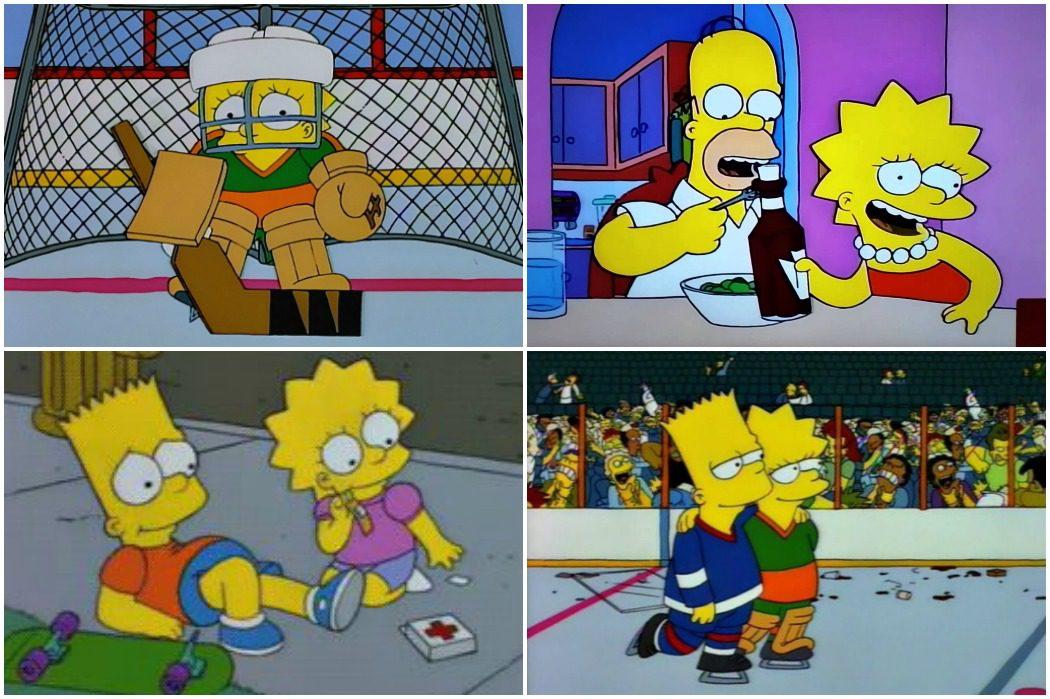 Lisa sobre hielo