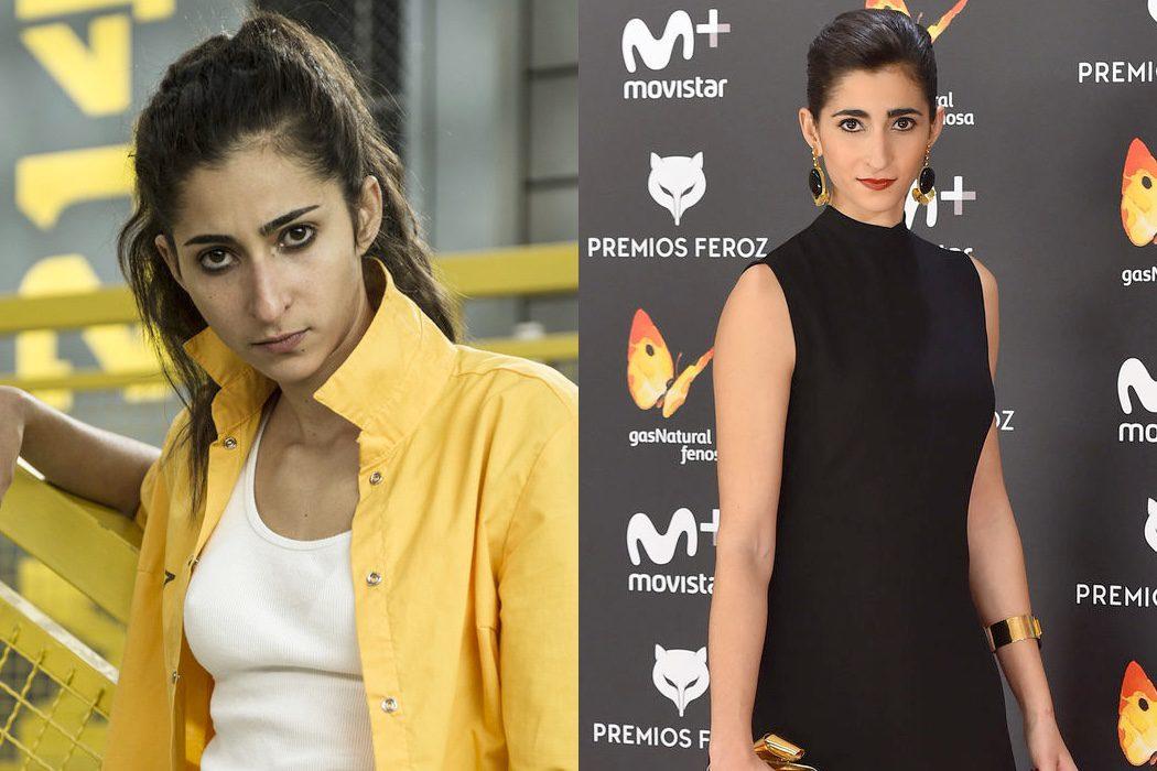 Alba Flores era Saray Vargas