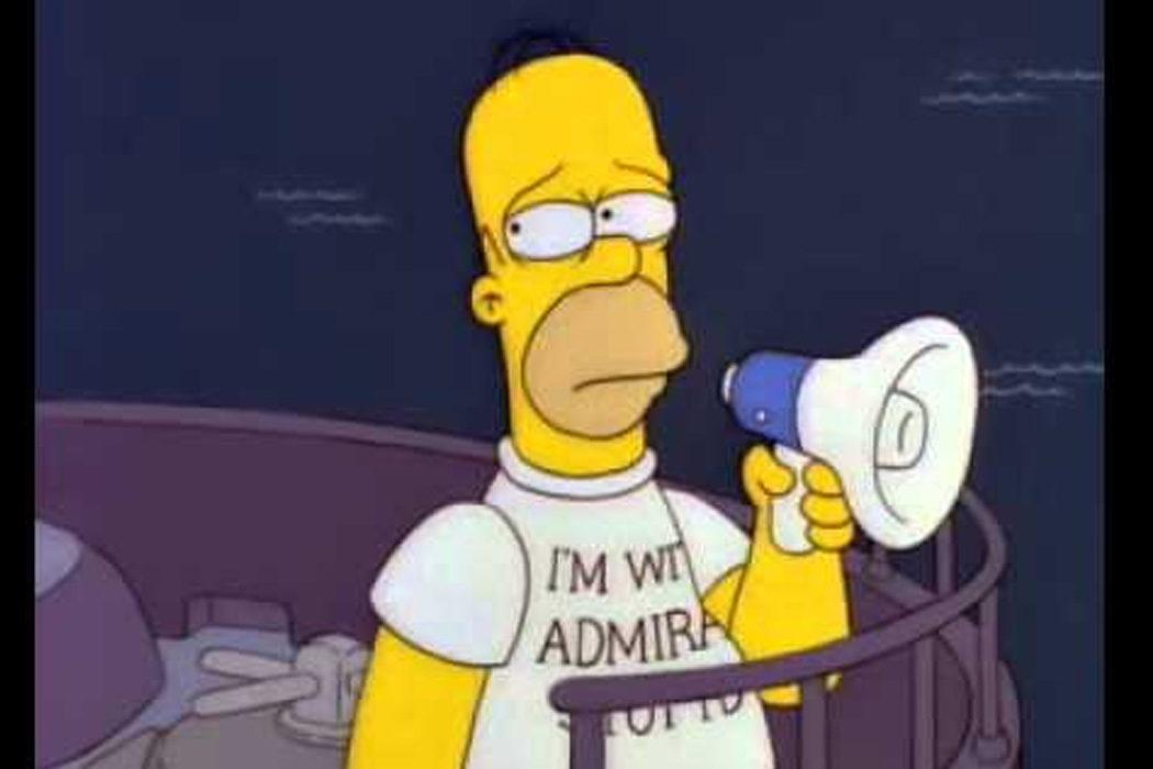 """""""Era mi primerito día"""" (Homer Simpson)"""