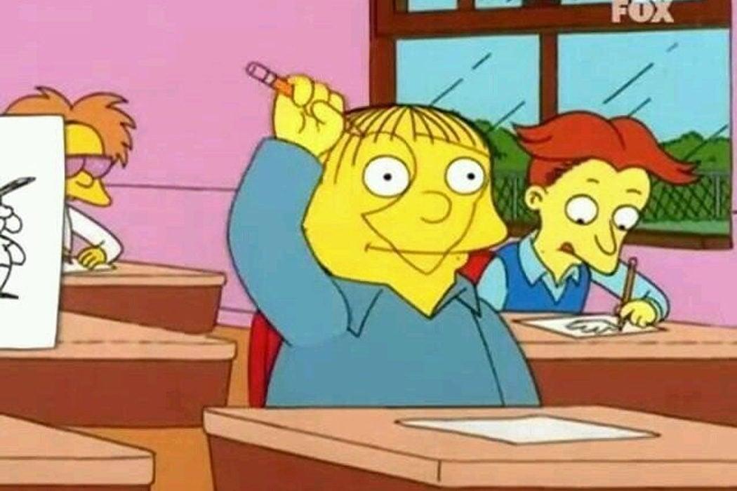"""""""Yo me llamo Ralph"""" (Ralph Wiggum)"""