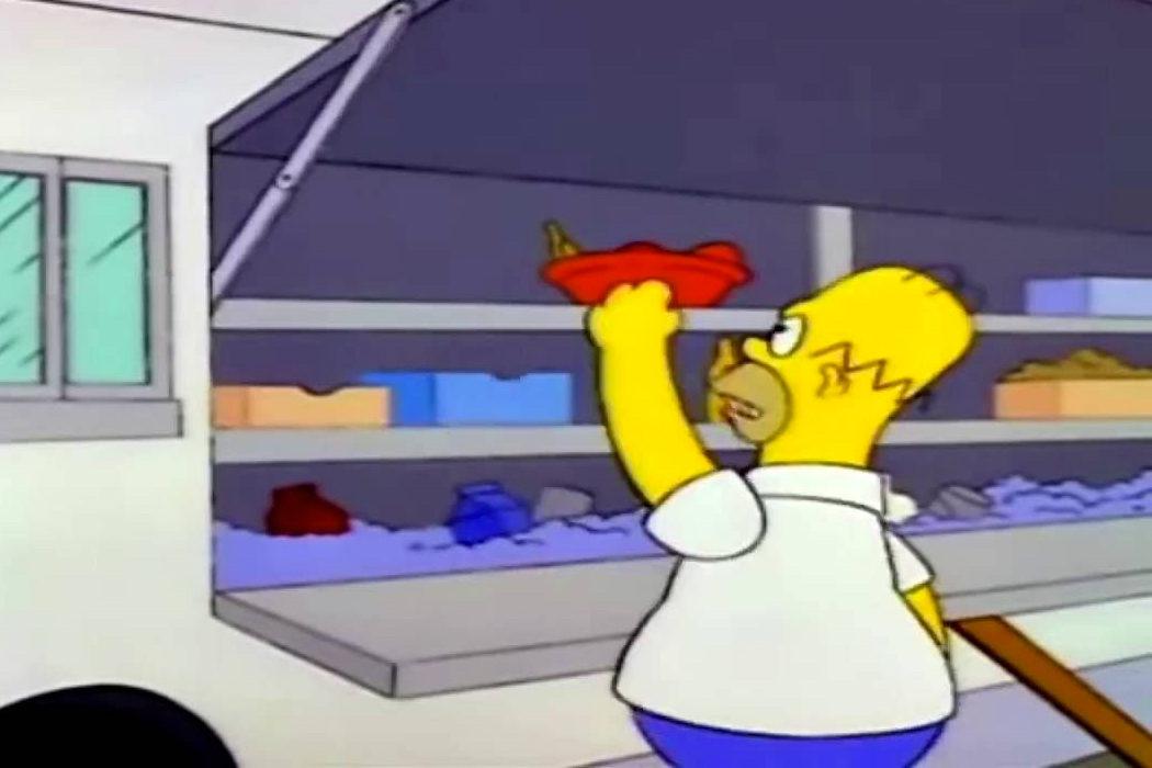 """""""Quiero mi bocadillo"""" (Homer)"""